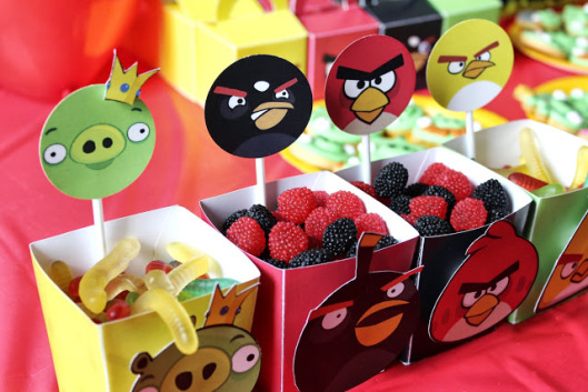 la super mamy angry birds