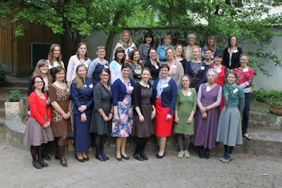 Treffen von Nähbloggerinnen in Leipzig Mai 2015