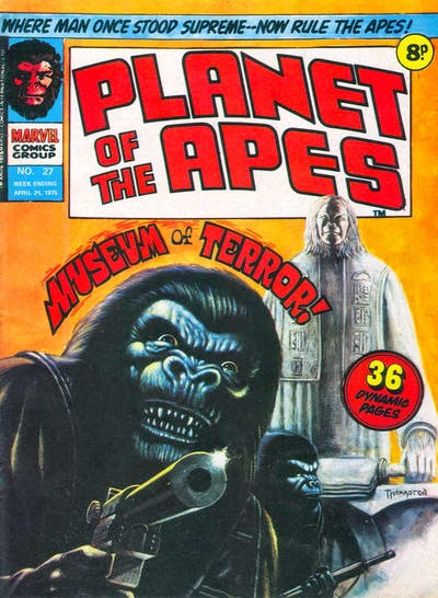 Marvel UK, Planet of the Apes #27, Museum of Terror