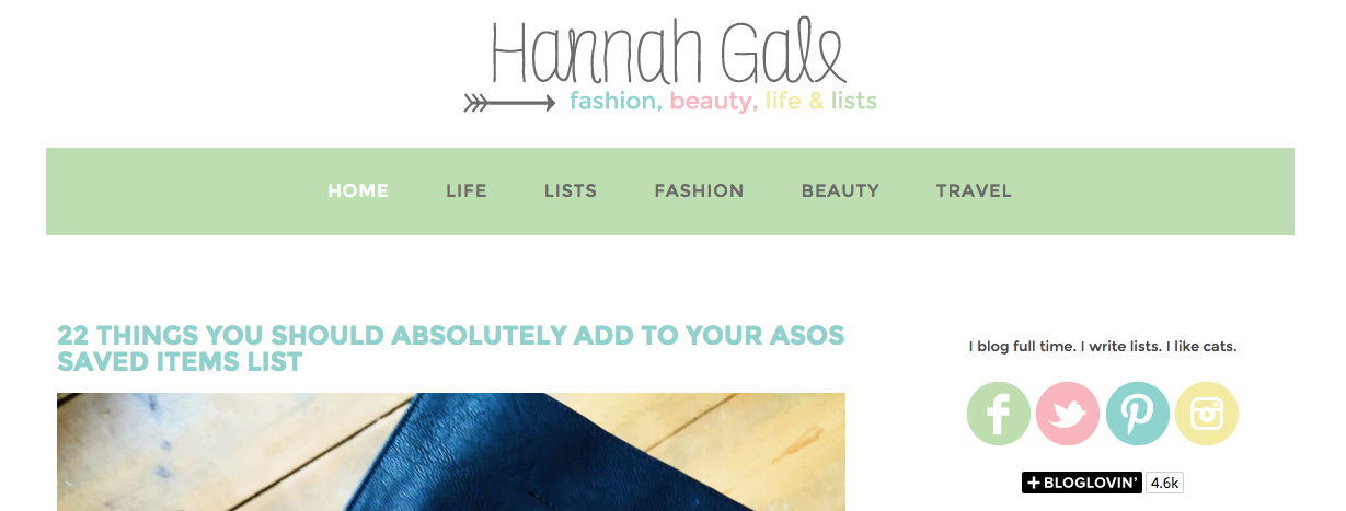 Hannah Gale A Blog I Love When Feeling... WORRIED