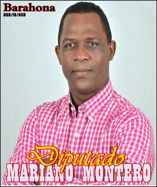 MARIANO MONTERO VALLEJO, DIPUTADO PLD PROVINCIA DE BARAHONA 2016-2020
