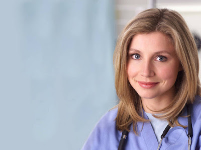 Hot Beauty Sarah Chalke Wallpaper