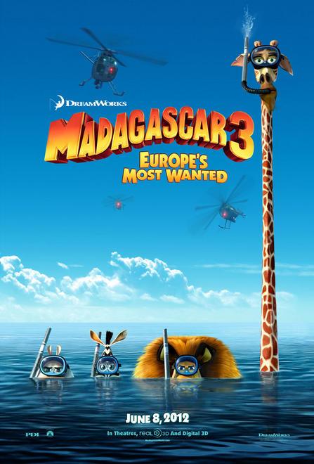 MADAGASCAR 3 -PRIMER TRAILER-