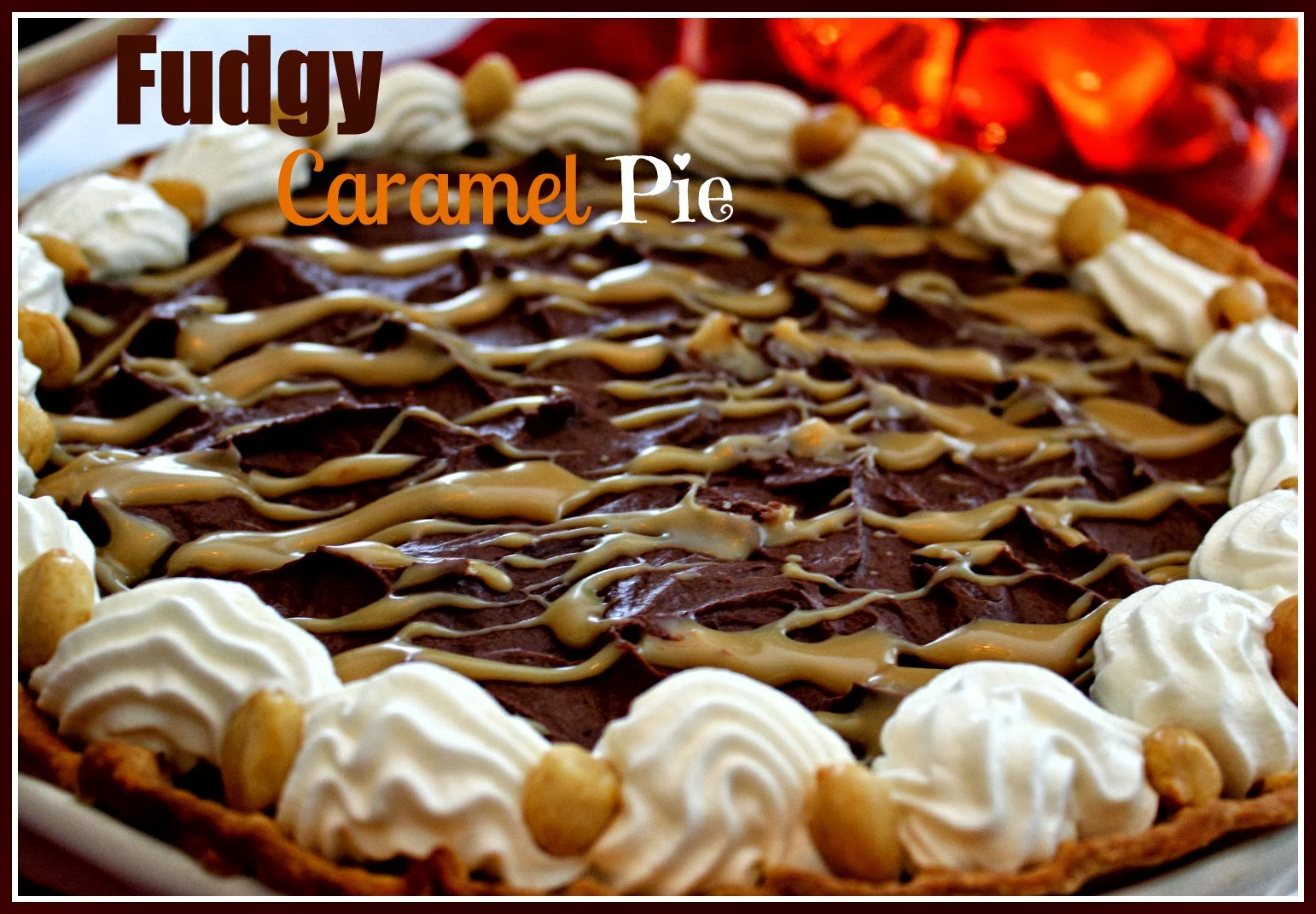 Caramel-Peanut Mud Pie Recipe — Dishmaps