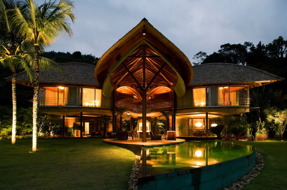 Tropical house design rio de janiero brazil most for Beautiful architecture houses