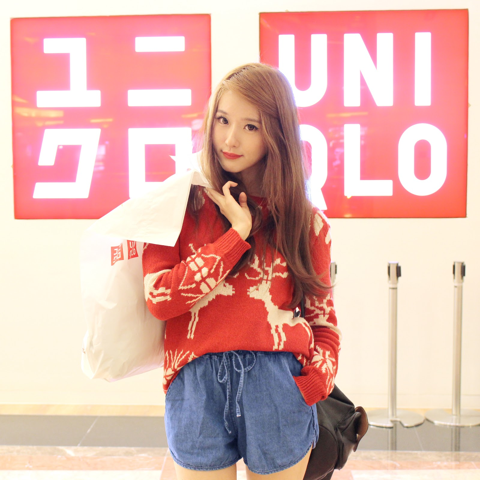 Etude House Disney Xoxo Minnie Elle And Jess Bloglovin Tendencies Kaos No Exuces Putih S Gowigasa Red Knit Reindeer Sweater Upcoming Collection Chambray Relax Shorts In Blue Jeans