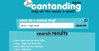 Cantanding: Karaoke di Youtube