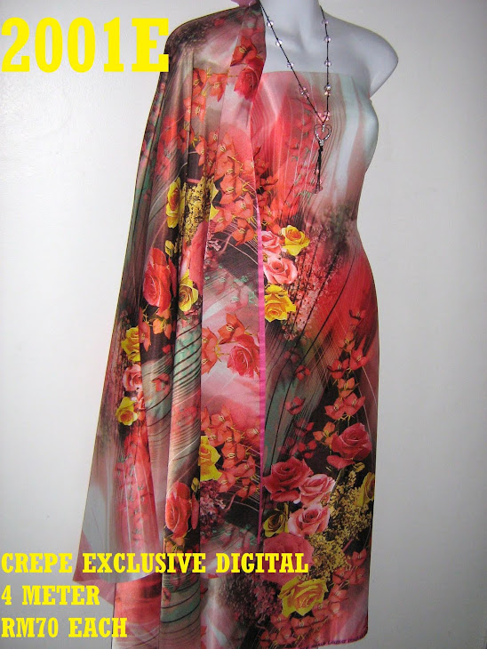 CP 2001E: CREPE EXCLUSIVE DIGITAL PRINTED, 4 METER