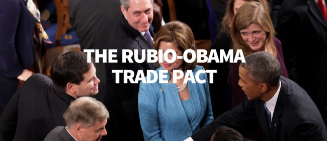 Will Rubio make trade deals favorable to Americans or will Trump?