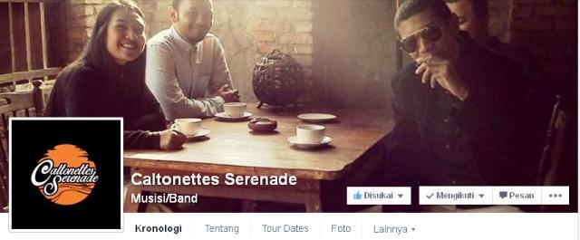 Caltonettes Serenade Facebook Fan Page
