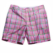 Plaid Pink Shorts