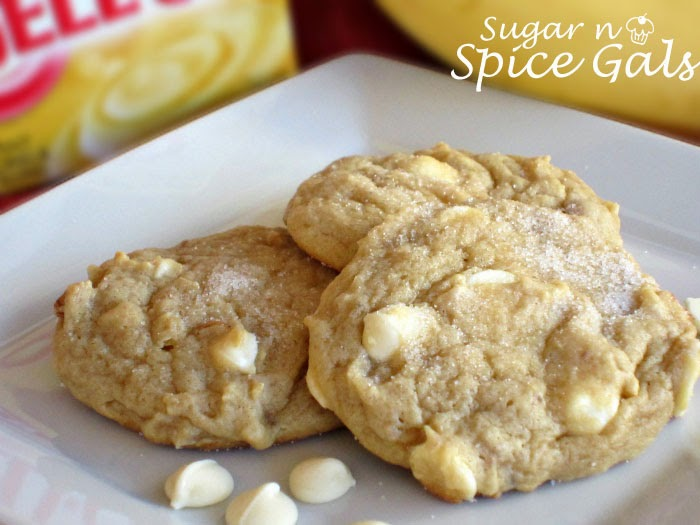 Spice Gals: Banana Nut Pudding Cookies