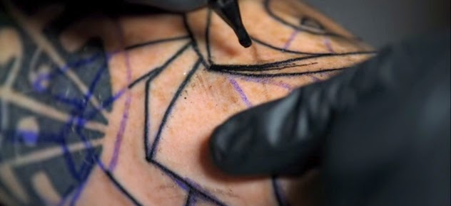 Tatuaje en slow motion