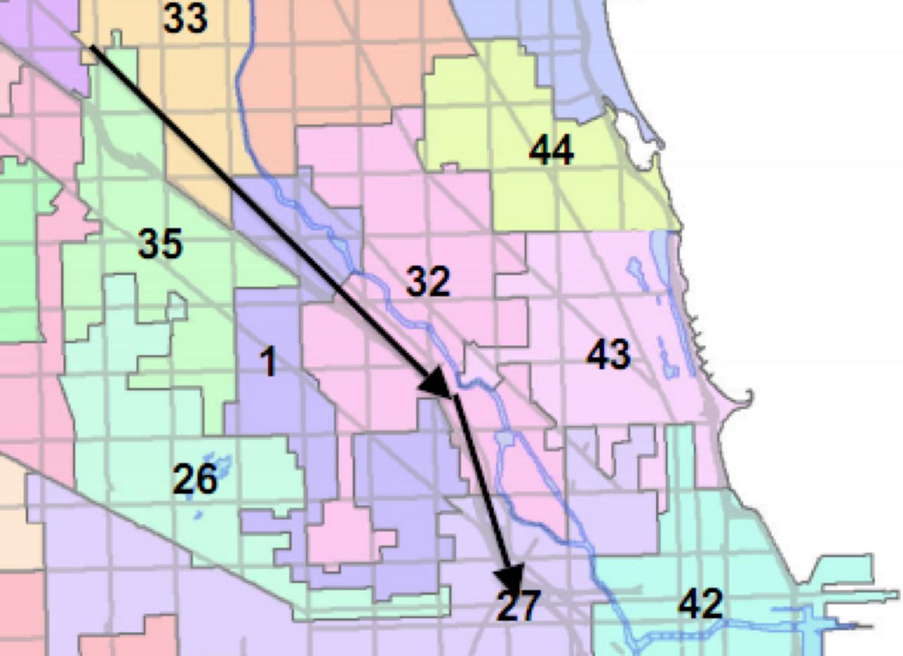 Bike Walk Lincoln Park Who Is Advocating For Chicagos Bike Lane - Chicago alderman map