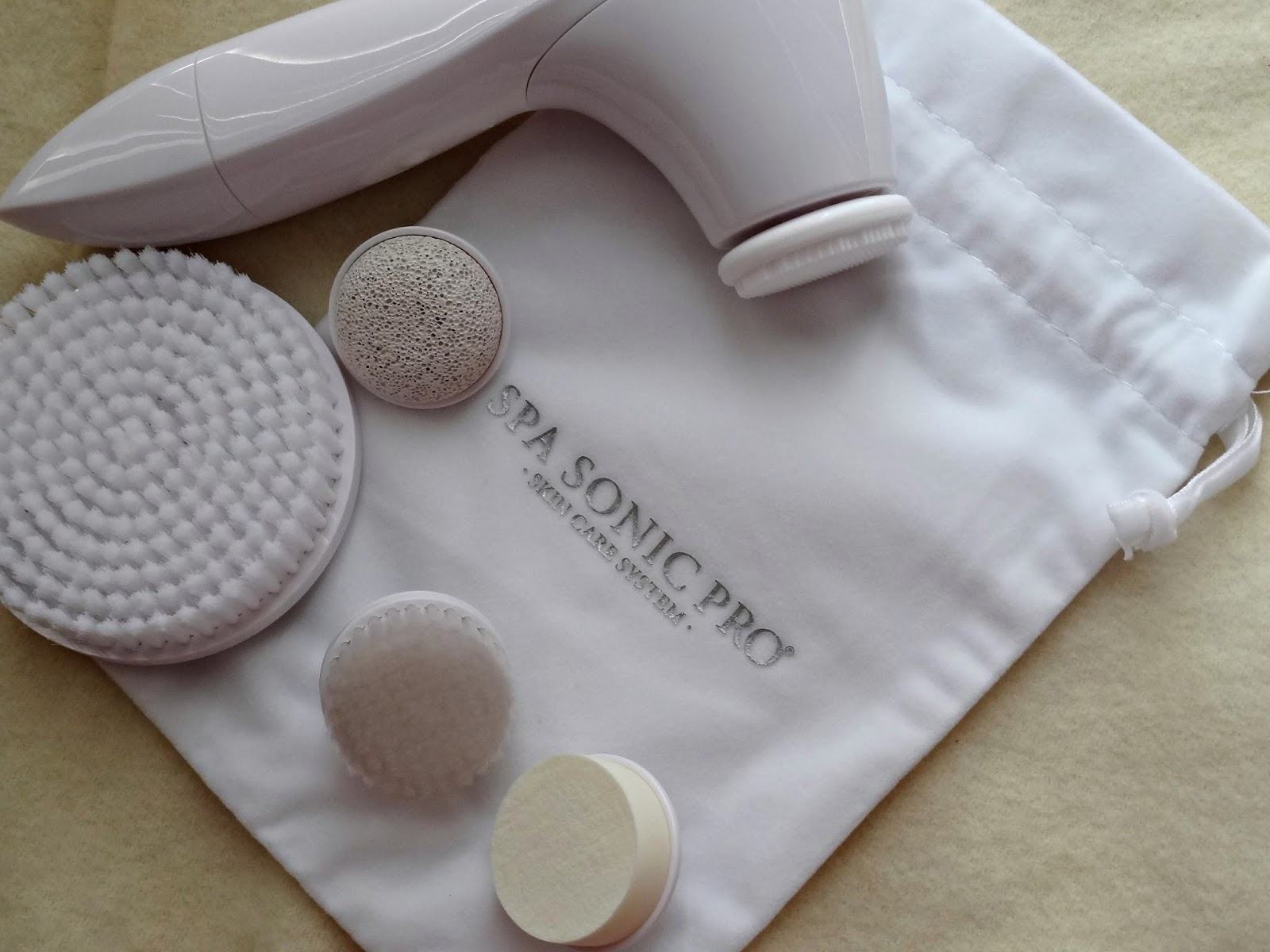 Spa Sonic Pro Skincare Cleansing System Review, Photos