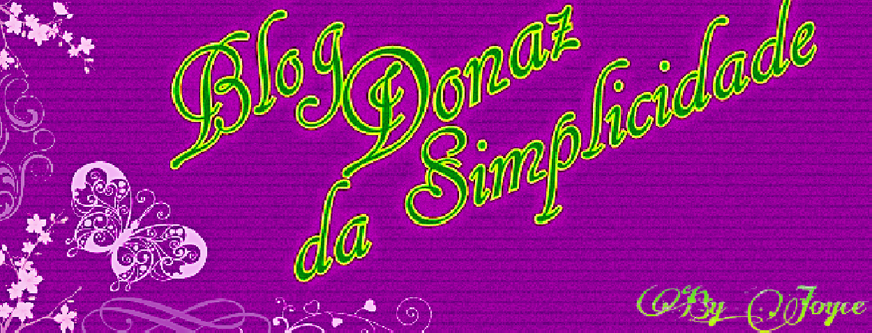 Blog Donaz da Simplicidade