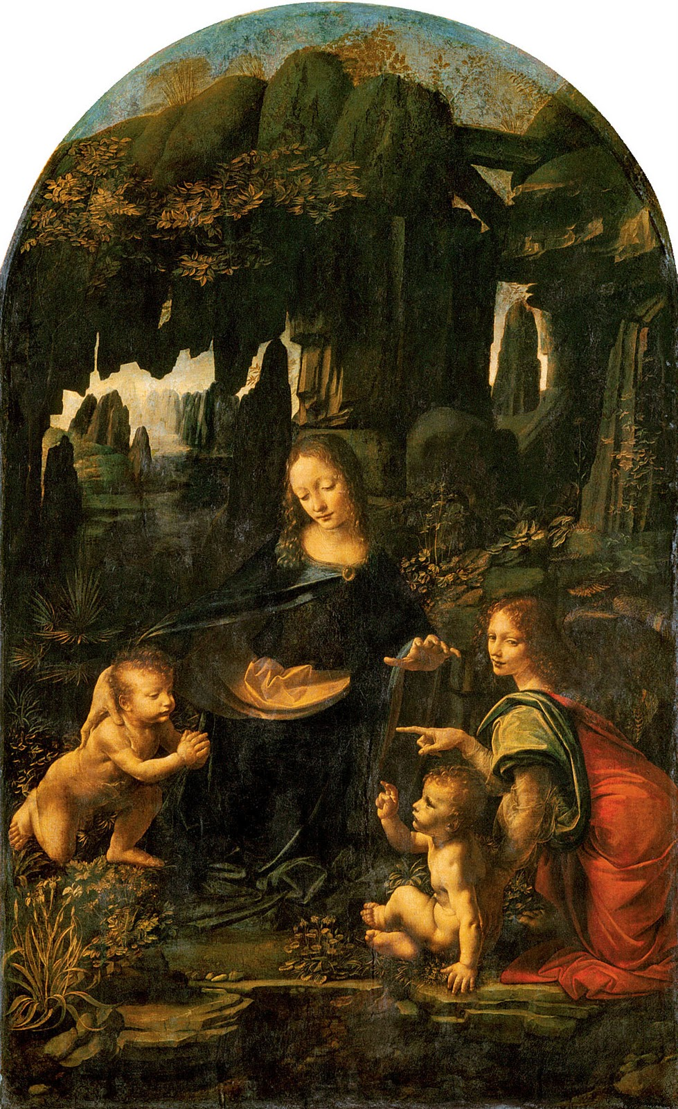 an analysis of the virgin of the rocks by leonardo da vinci Virgin of the rocks (louvre) 1483-86 by leonardo da vinci this is the first version of the virgin of the rocks created solely by leonardo.
