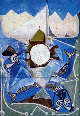 Pablo Picasso - Ulysse et les sirènes