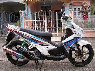 Modifikasi Yamaha Nouvo 135