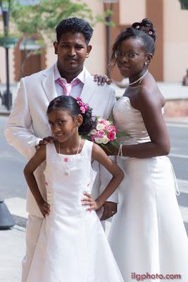 mariage en Guadeloupe, demoiselle d'honneur, les Abymes
