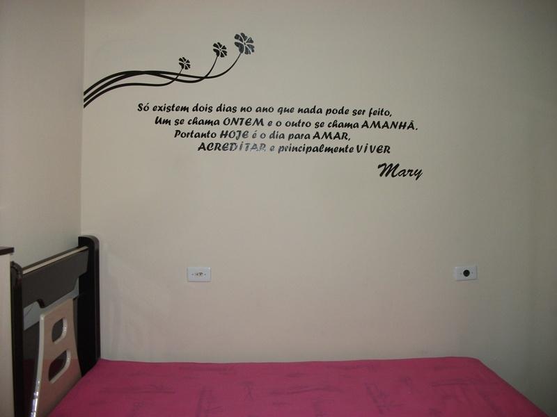 Make up by Ana Isabel Room Decoração ( Frases na parede ) ~ Adesivo De Parede Quarto Frases