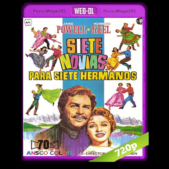 Siete novias para siete hermanos (1954) Web-Dl 720p AC3 5.1+subs