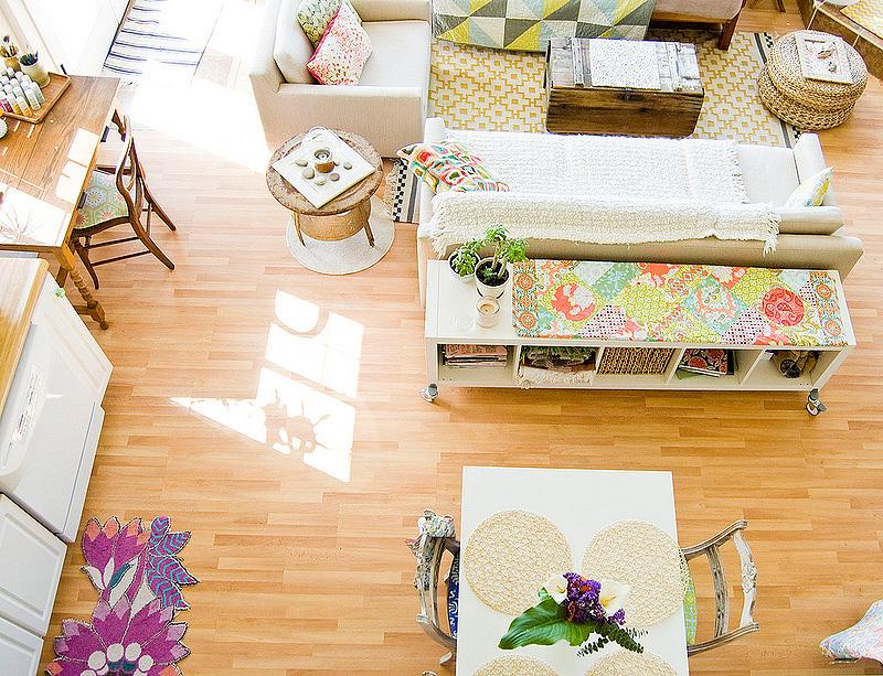 decor me un luminoso cottage con tonos pastel en california. Black Bedroom Furniture Sets. Home Design Ideas
