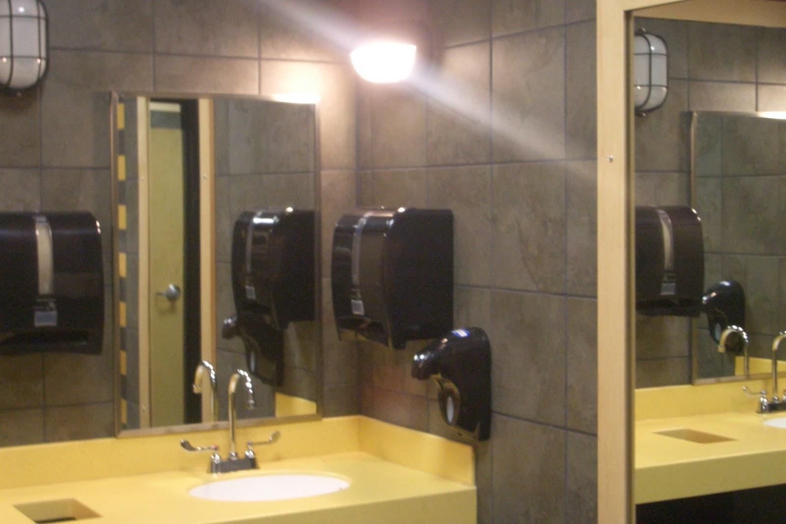 Public bathroom blog cool springs welcomes buffalo wild for Wild bathrooms