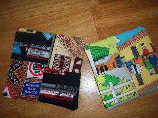 fabric coasters