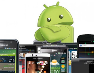 HTC One, Samsung Galaxy, LG Optimus, BBM on Android phones