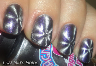 magnetique grey magnetic nail polish swatches