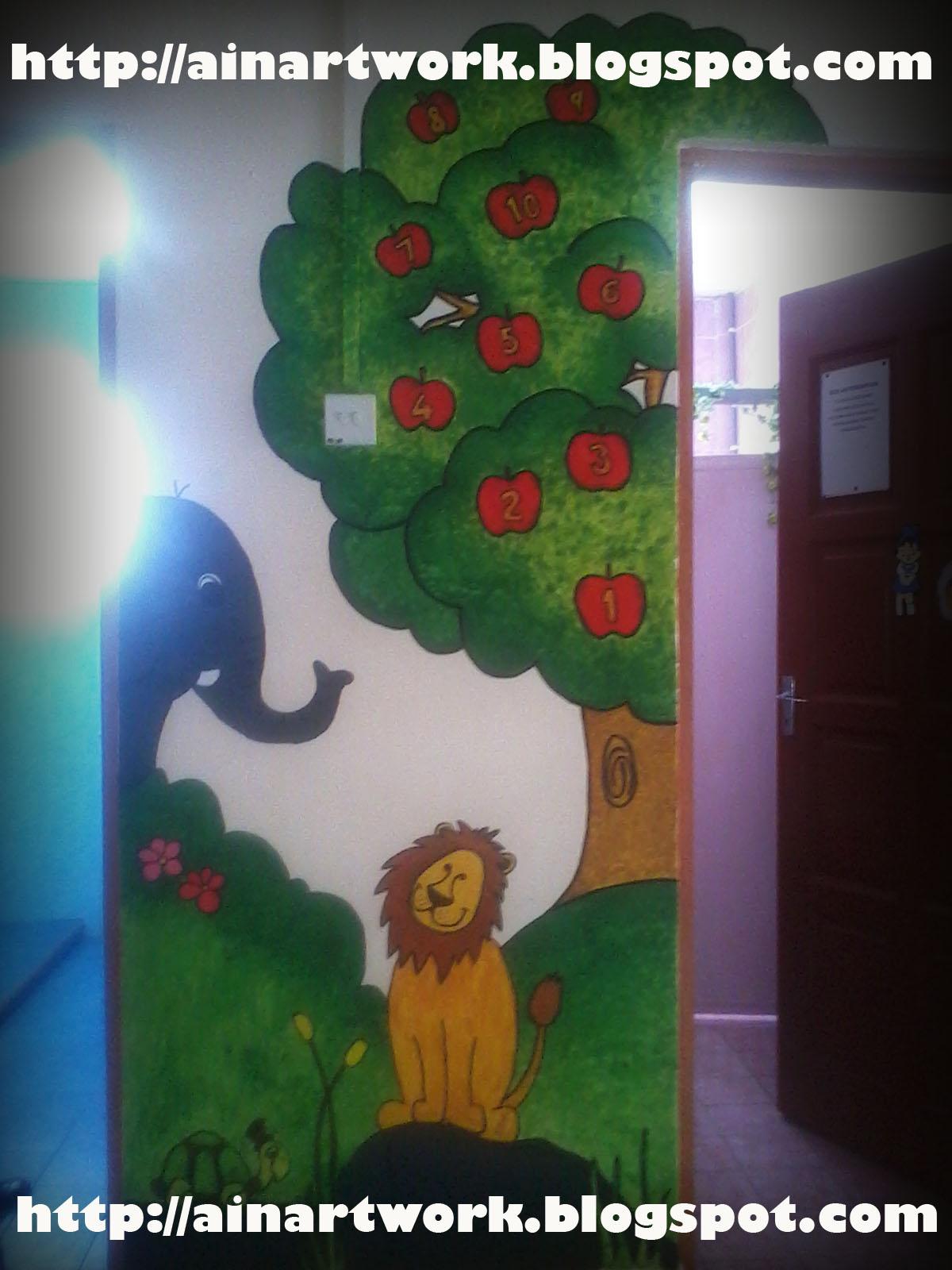 Ladybird comel mural wahai mural for Mural untuk kanak kanak