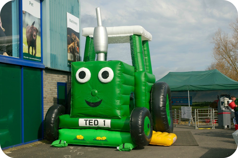 Tractor Ted Bouncy Castle Farm Show