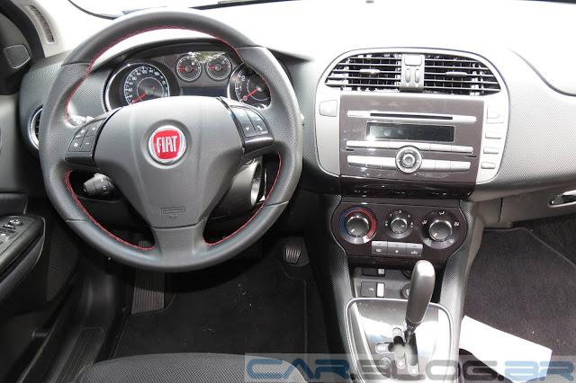 Fiat Bravo Sporting Dualogic 2014 - painel