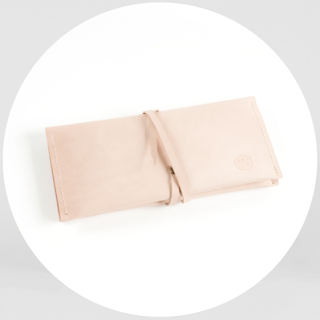 Materials + Process Georgia clutch handbag