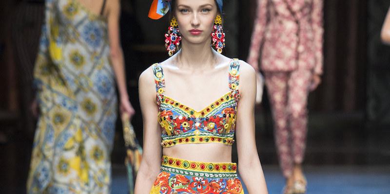 Dolce & Gabbana Spring / Summer 2016 Milan