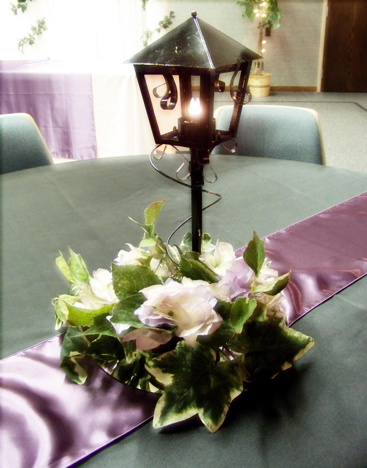 Lantern Centerpieces With Pictures : Runaway bridal planner wedding decoration