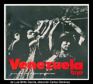 VENEZUELA TUYA, de Luis Britto García