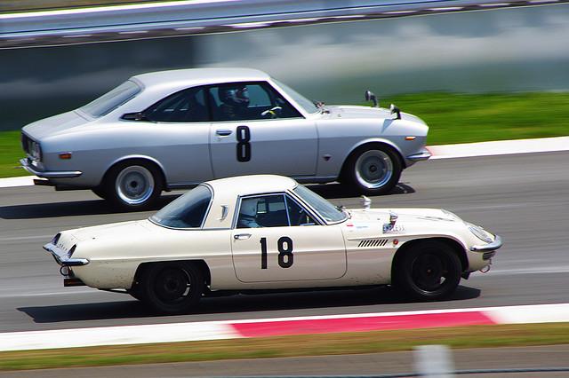 Mazda RX-2 & Mazda Cosmo Sport