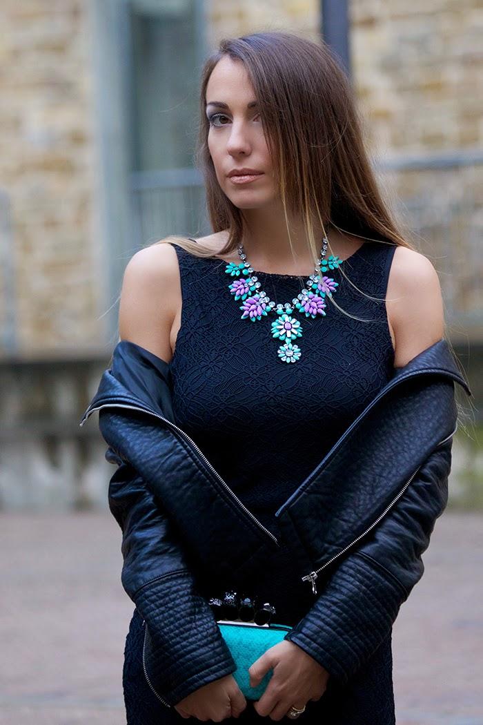 outfit elegante nero