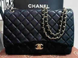 chanel+maxi+black my dreamsssss
