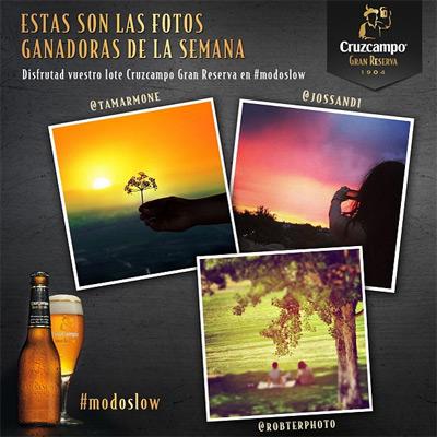 modo slow de la vida fotos ganadoras instagram Cruzcampo