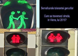 Cum sa traversezi strada, in Viena lui 2015