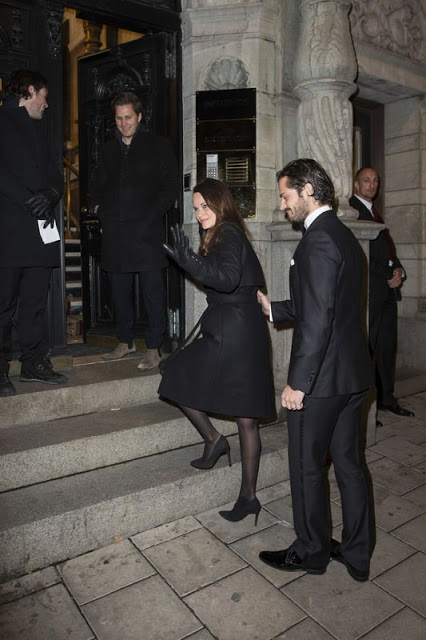 Princess Sofia And Prince Carl Philip Attended A Charity Dinner
