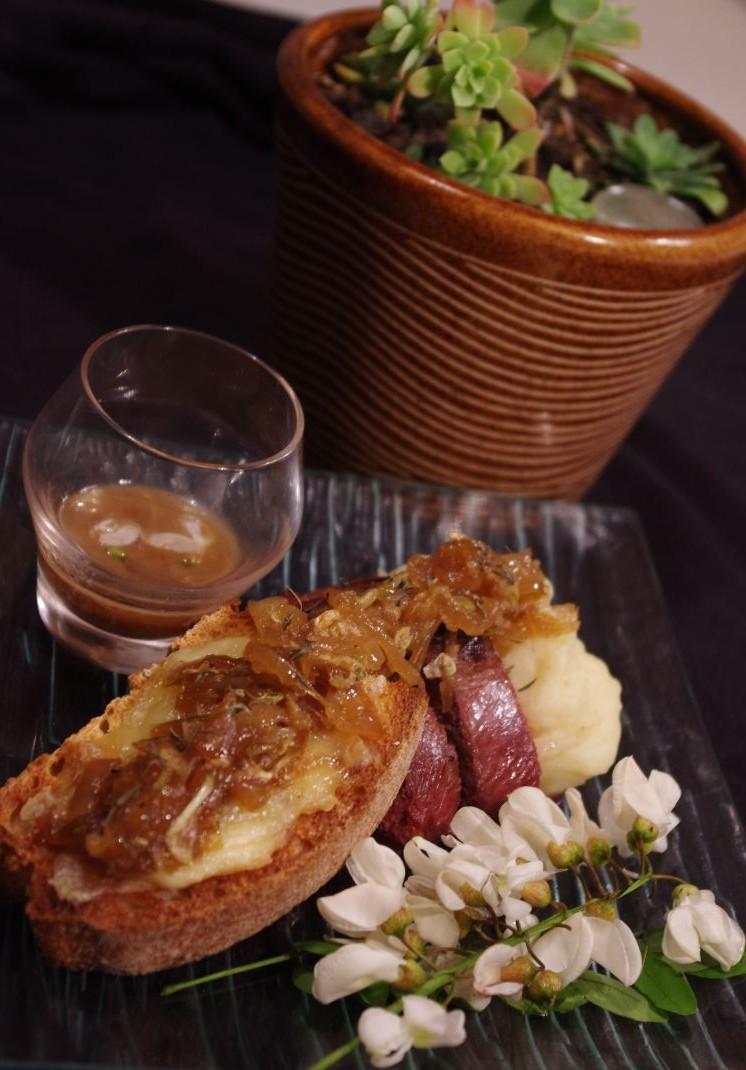 recette magret de canard et confit d 39 oignon l 39 acacia blog cuisine. Black Bedroom Furniture Sets. Home Design Ideas