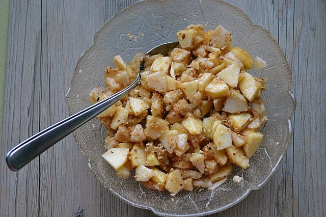 Apfel-Birnen-Strudel Füllung