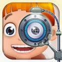 Little Eye Doctor - Kids Games App iTunes App Icon Logo By George CL - FreeApps.ws
