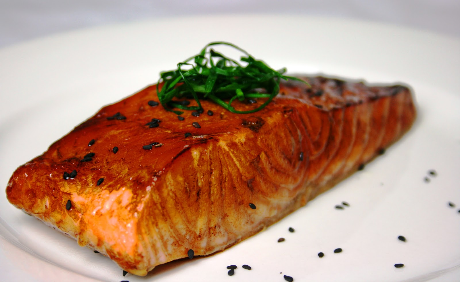 Five minute teriyaki salmon, salmon recipes, fish, easy fish recipes ...