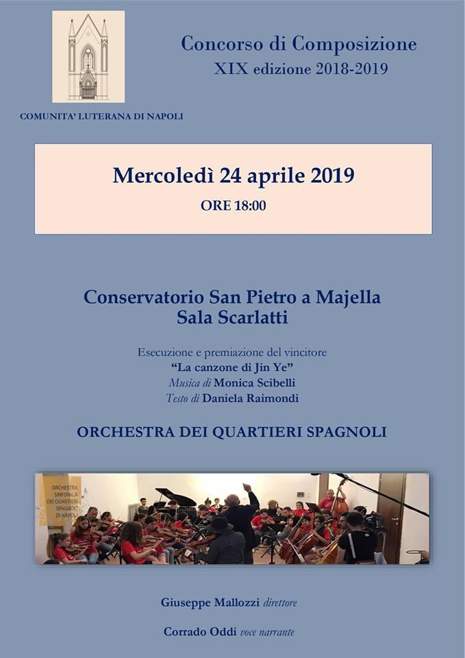 24 aprile, Napoli