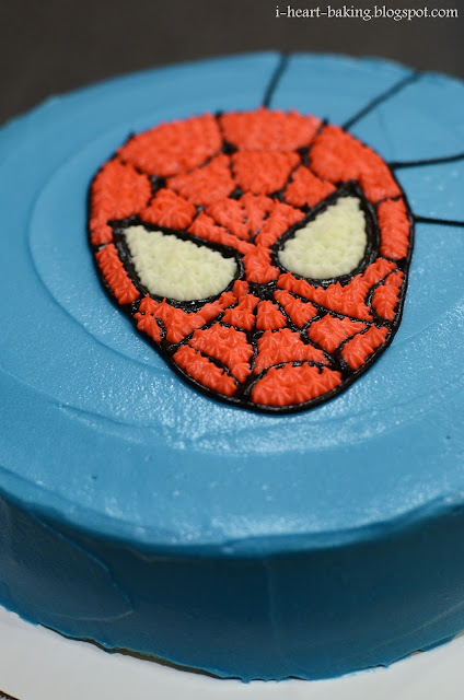 Black spiderman cakes - photo#28